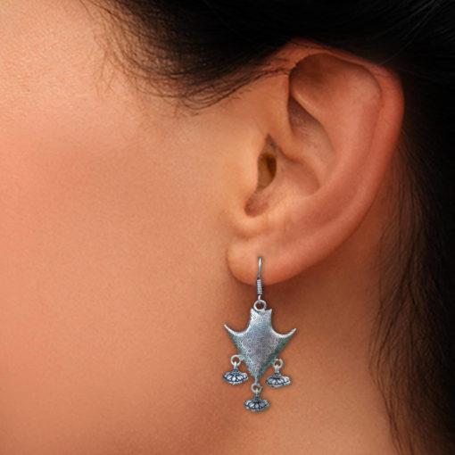 Warrior Shield Earrings 03